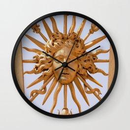 roi soleil Wall Clock
