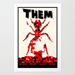 Them! Art Print