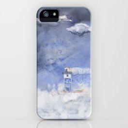 Splashing around at Grand Marais iPhone Case