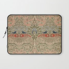 Peacock and Dragon (1878) by William Morris Laptop Sleeve