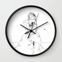 the great raven Wall Clock