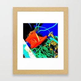 Rubber Glove Seven Framed Art Print