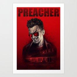 Preacher: Cassidy poster Art Print