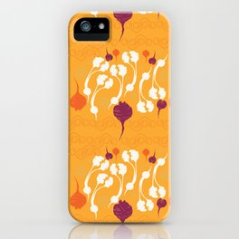 Get Your Beet On iPhone Case