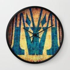M of Spade  Wall Clock