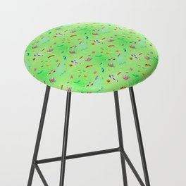 Candy (lime version) Bar Stool