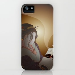 The Faceless Ghost_dark iPhone Case