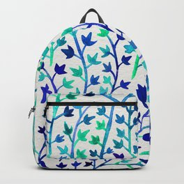 Turquoise Ivy Backpack