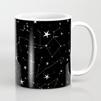constellations Mugs featuring Constellations by Rachel Buske