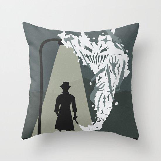 Shady Killer Throw Pillow