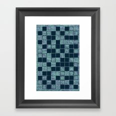 Don't be a square Framed Art Print