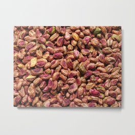 pistachio texture Metal Print