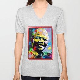 Nelson Mandela Madiba Unisex V-Neck