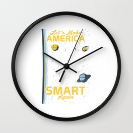 Neil deGrasse Tyson T-Shirt Wall Clock