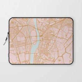 Cairo map, Egypt Laptop Sleeve