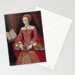 The Virgin Queen when a Princess Stationery Cards
