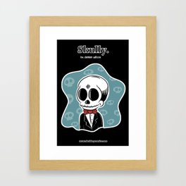 Skully Framed Art Print