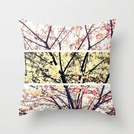 Cherry Blossom Tree Throw Pillow
