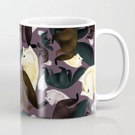 Sable Marten tropical  EggPlant Coffee Mug