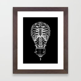 The Concept of Death Framed Art Print
