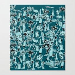 TEAL VANDAL CLASSICS Canvas Print