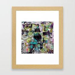 Infectious Infrastructure Framed Art Print