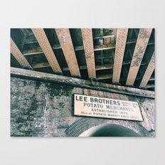 Borough Market Canvas Print