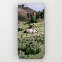 peru iPhone & iPod Skins featuring Patacancha, Peru by Wiara