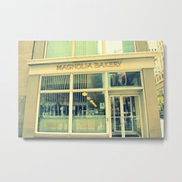 New York Bakery Metal Print