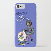 allison argent iPhone & iPod Cases featuring PokeWolf: Allison Argent by Trickwolves