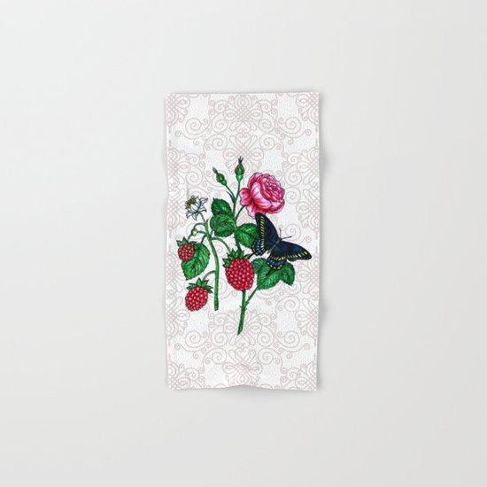 Raspberries Hand & Bath Towel