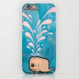 Swim With Me iPhone Case