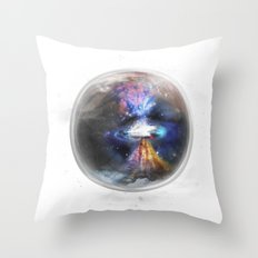 Small Bang Throw Pillow