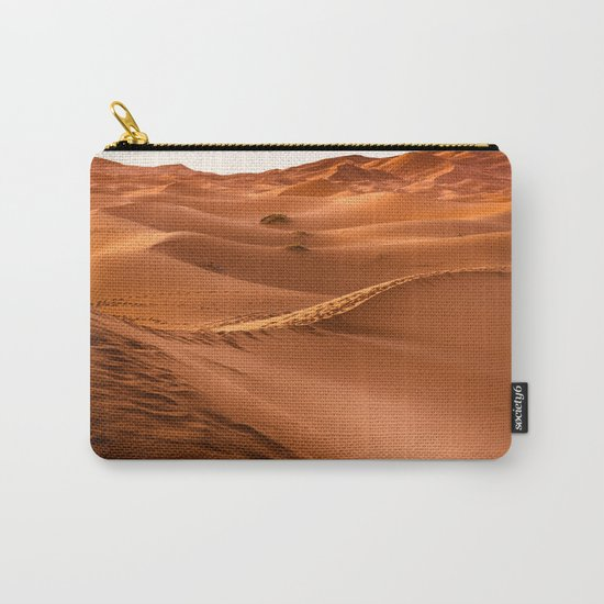 Desert landscape. Sahara Carry-All Pouch