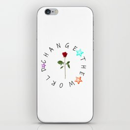 We Can Change the World iPhone Skin