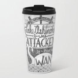 Attacked By A Swan Travel Mug