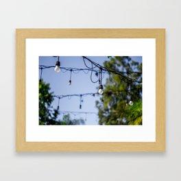 Light Bulbs  Framed Art Print