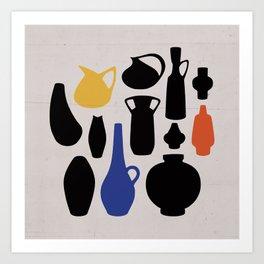 West German Ceramics Art Print