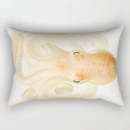 Peachy Keen Octopus Circa 1898 Rectangular Pillow