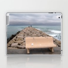 the storm moves away (Sitges) Laptop & iPad Skin