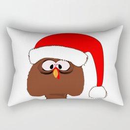 Turkey Father Christmas Rectangular Pillow