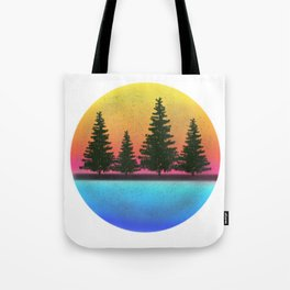A day in the woods Tote Bag