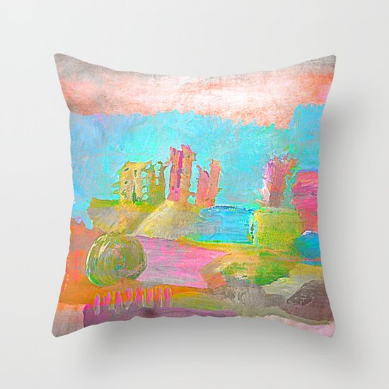 Bj15 Throw Pillow