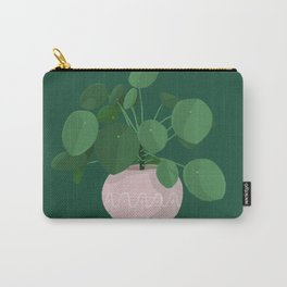 pilea peperomioides Carry-All Pouch