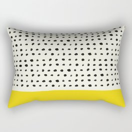 Sunshine x Dots Rectangular Pillow