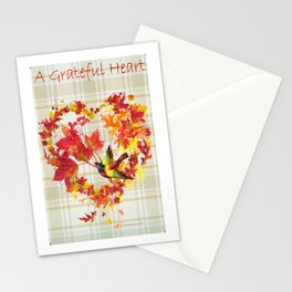 A Grateful Heart Stationery Cards