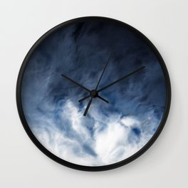 Agate Clouds Wall Clock