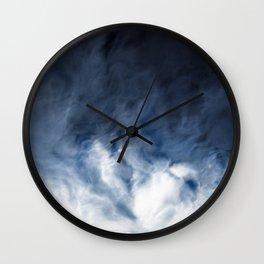 Agate Clouds Wall Clock