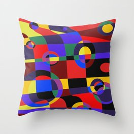 Abstract #96 Throw Pillow