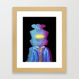 Enter the Royce Zone Framed Art Print